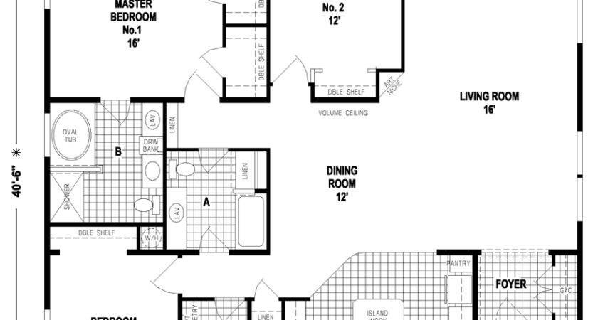 Triplewide Homes Mobile Floor Plans Triple Wide