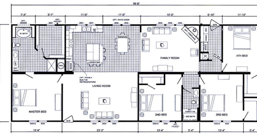 Troy Double Wide Floor Plans
