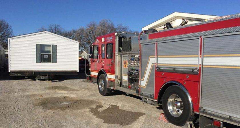 Two Mobile Homes Damaged Fire Tulsa Business News
