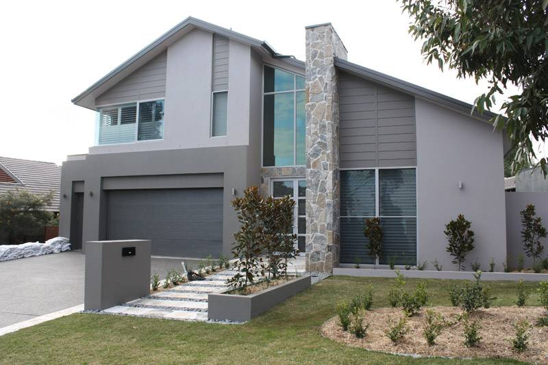 Two Storey Home Master Guest Bedrooms Downstairs Yarrum Designer