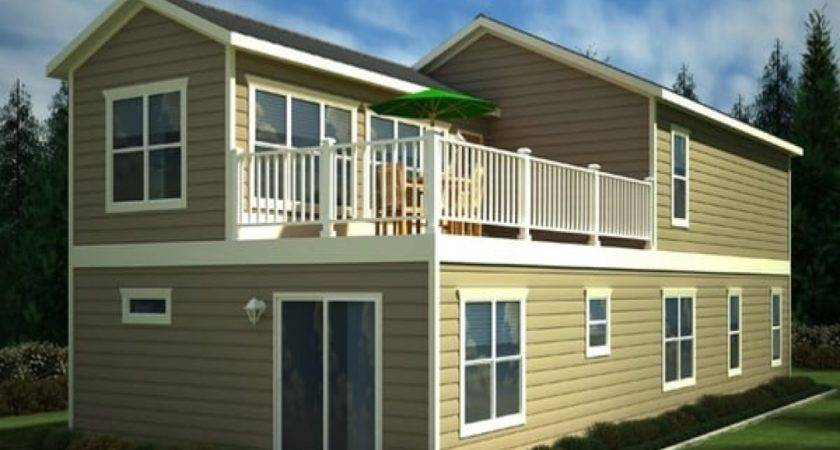 Two Story Mobile Homes Double Wide Home Trailers