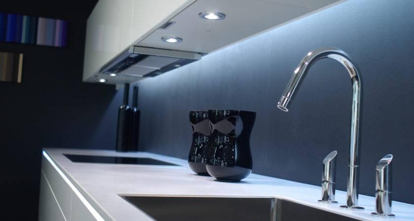 Under Cabinet Lighting Options Modern Kitchen Sink