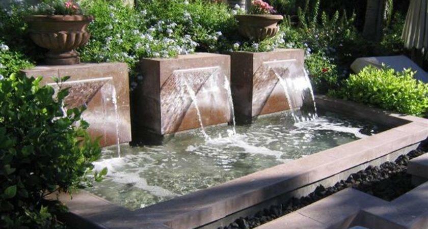 Unique Backyard Water Features Leave