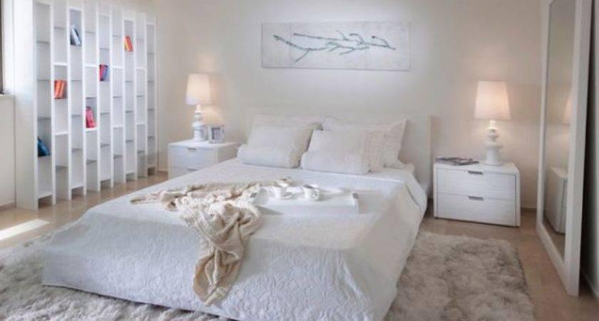 Unique Bed Bedroom Creamy Distractive Elements