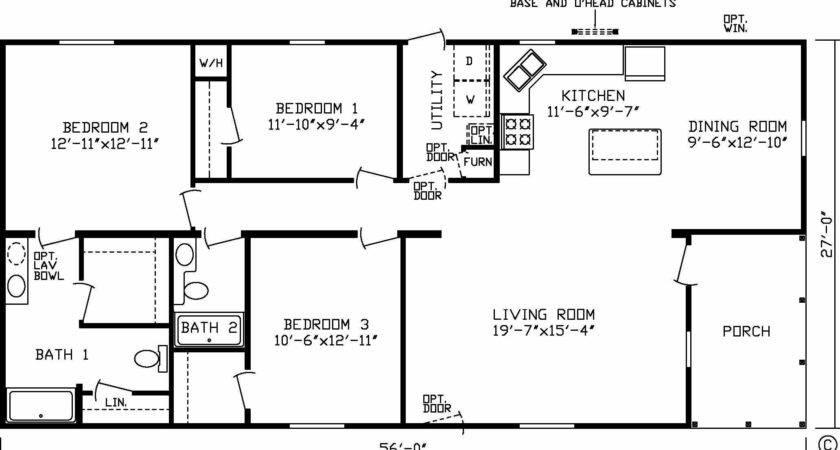 Unique Mobile Home Floor Plans