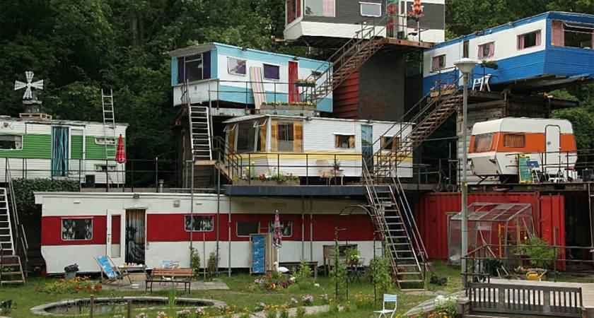 Unique Mobile Homes Highrises Past Present Future