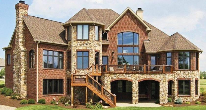 Unique Nuance Stone House Plans Design Your Own Plan