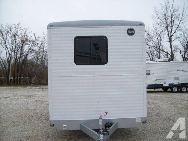 Used Office Trailer Wells Cargo Sale Dayton