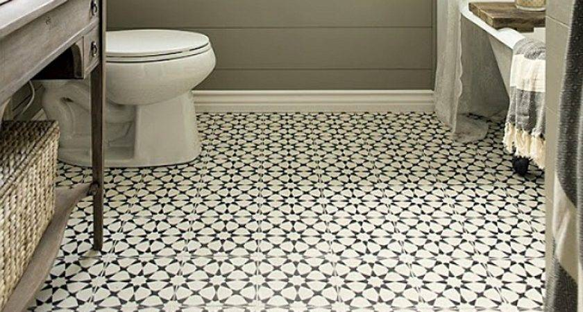Vintage Bathroom Floor Tile Ideas Before Start Your
