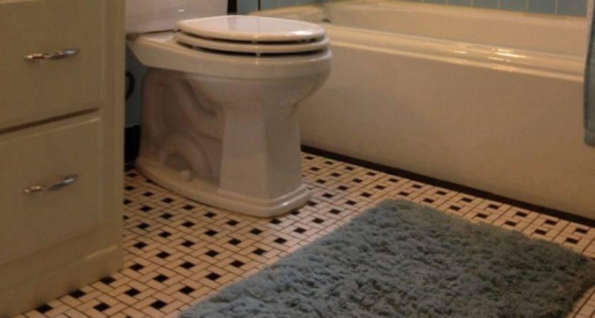 Vintage Bathroom Floor Tile Patterns Flooring Ideas