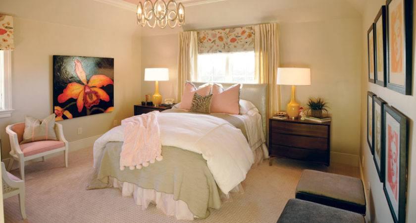 Vintage Pink Brings Southern Sophistication Showcase Bedroom