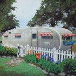 Vintage Spartanette Tandem Travel Trailer Mobile Home Large