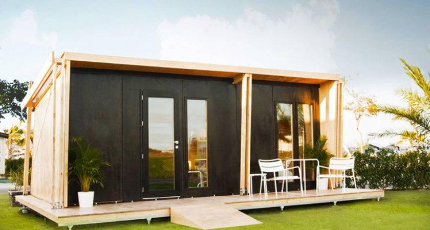 Vivood Prefab Tiny House Powered Solar Panels
