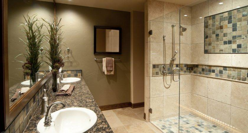Walk Shower Ideas Lavish Tiny Bathroom Cabin