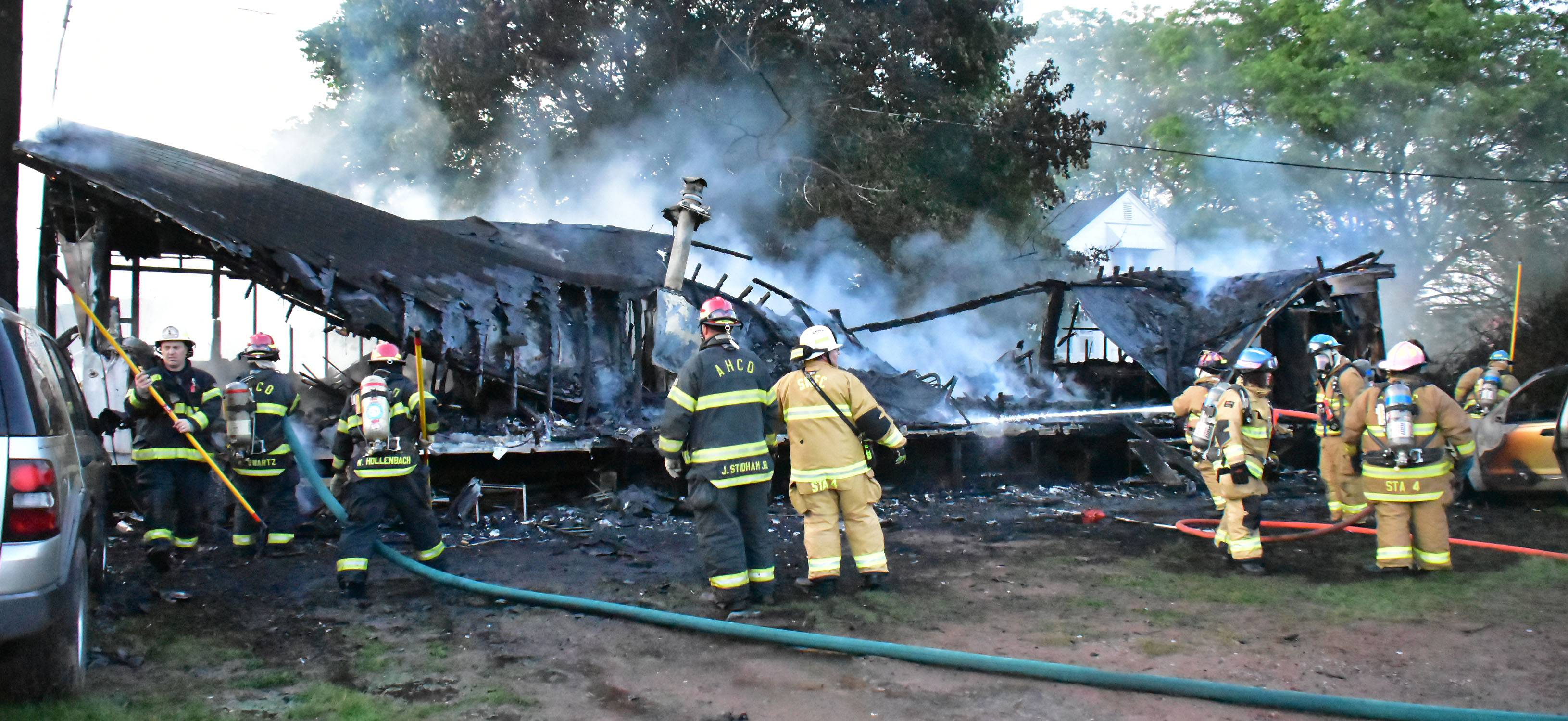 Walker Township Mobile Home Fire Times News
