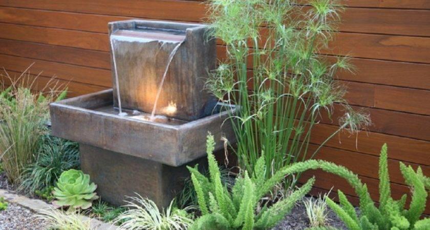 Water Fountain Archives Ideas Garden Backyard Space Around