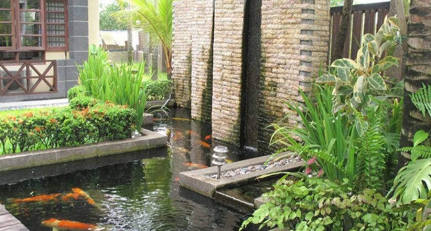 Water Fountain Outdoor Fountains Landscaping Ideas
