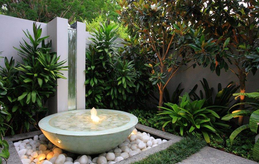 Water Fountains Design Small Courtyard Ceramic Fountain