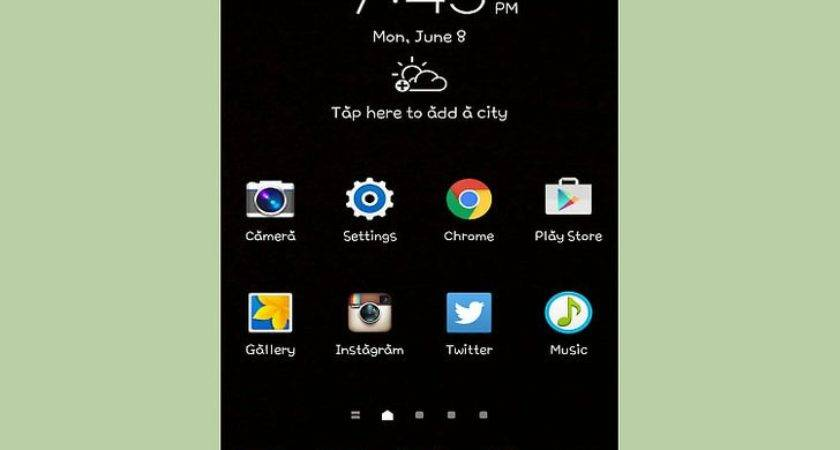 Ways Remove Blank Home Screen Android Wikihow