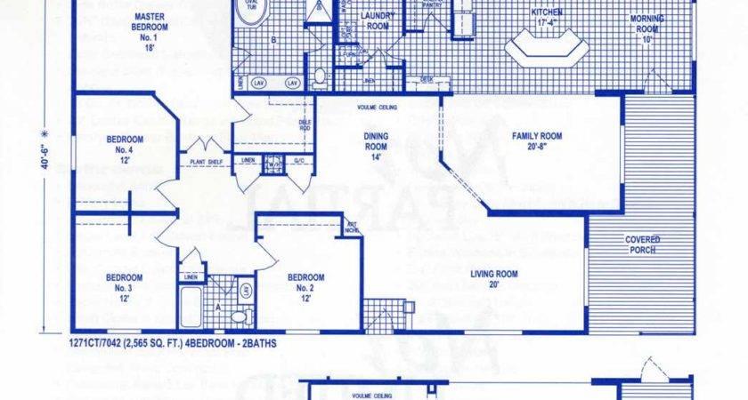 West Ridge Triple Wide Floor Plans