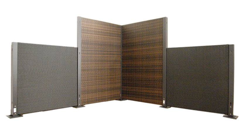 Wicker Modular System Portable Partitions Company