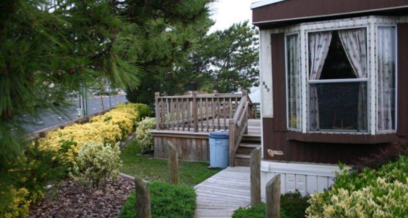 Wide Mobile Home Landscaping Ideas Homes