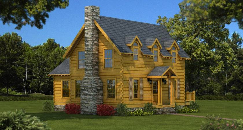Williamsburg Log Cabin Floor Plan Southland Homes