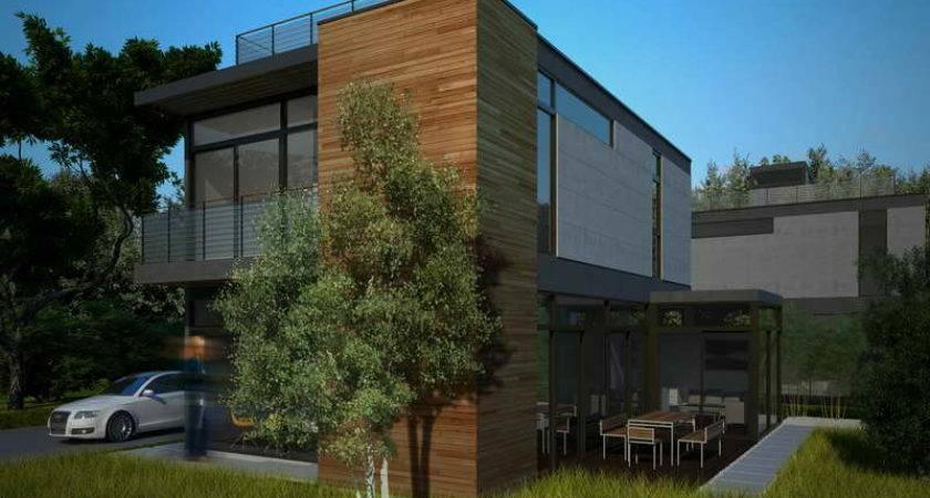 Wonderful Modern Green Prefab Homes