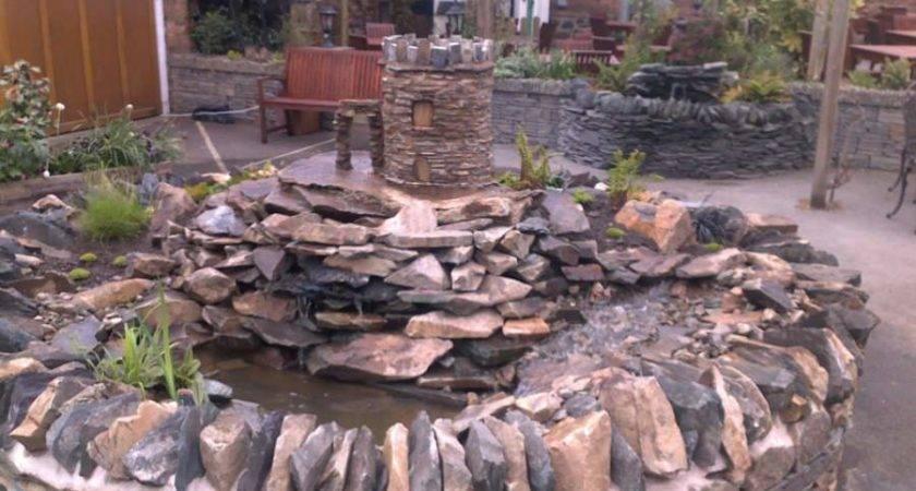 Woodbrooklandscapes Design Build Water Feature