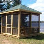 Wooden Gazebo Plans Build Perfect Shed Building