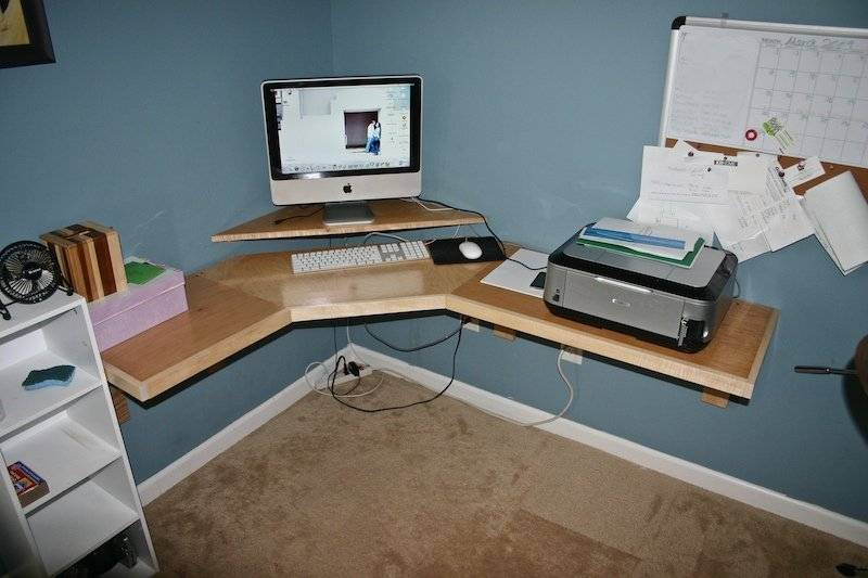 Woodworking Build Your Own Corner Desk Pdf