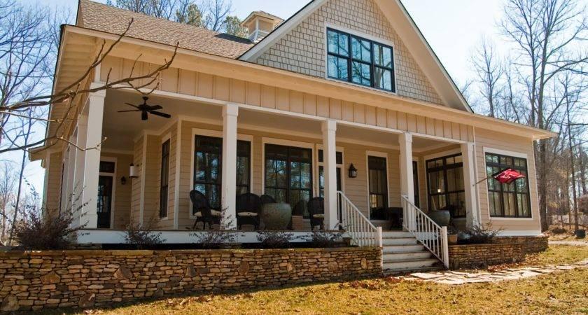 Wrap Around Adobe Homes Farmhouse Plans Southern House