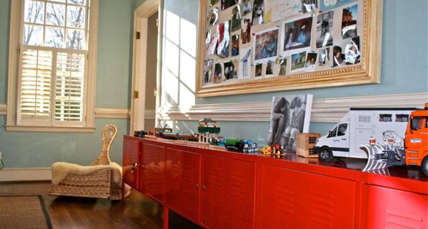 Wythe Blue Contemporary Boy Room Benjamin Moore