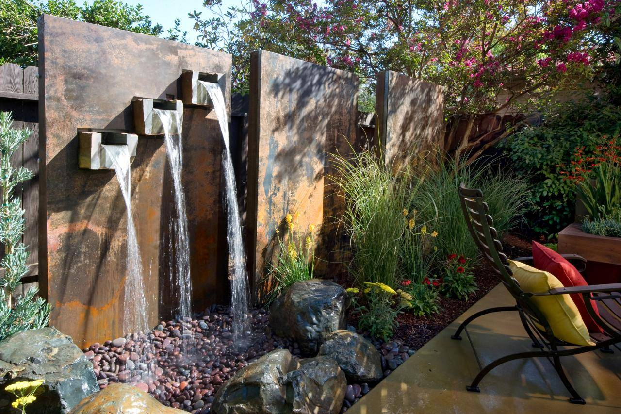 Yard Crashers Water Feature Wonderland Diy