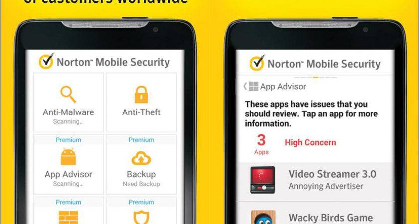 Year Norton Mobile Security Antivirus Protection