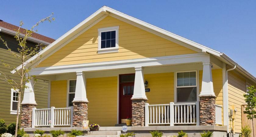 Yellow Modern Bungalow House Plans Plan