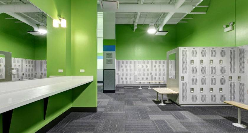 Zip Fitness Locker Rooms Chicagoland Center